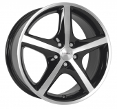 disky HONDA Civic Type-R 7.0x16 DEZENT RL DARKRV: TRLP0BP40 PCD:114.3 ET:40 5/2007